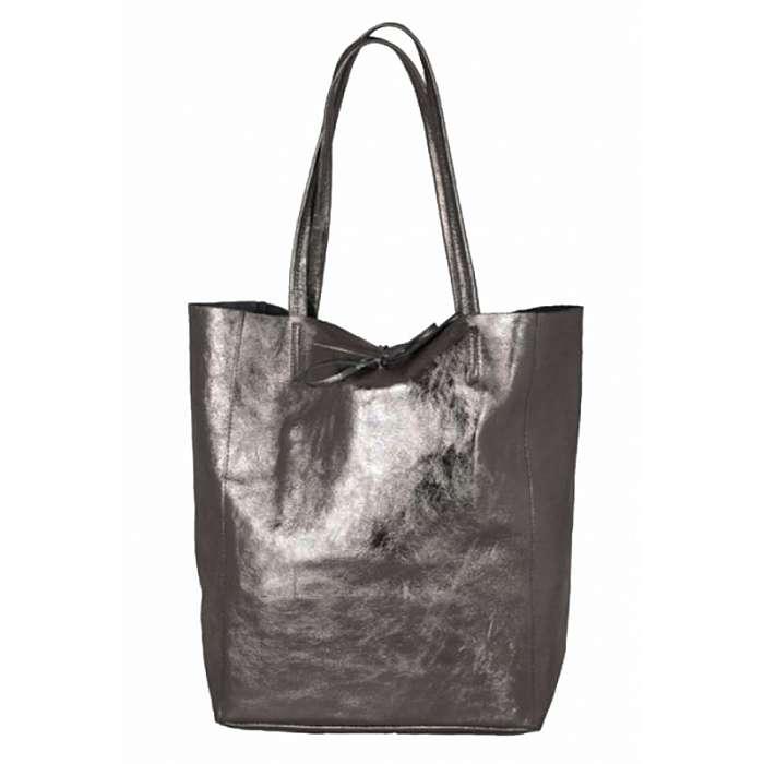 b924c802b7a Дамски чанти от естествена кожа в графит цвят - онлайн магазин за ...